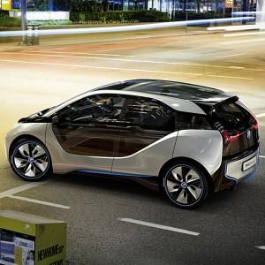 BMW i3 concept Car Exterior side view 1